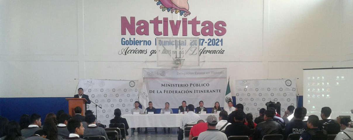 PGR lleva a Nativitas programa Itinerante de Misterios Públicos