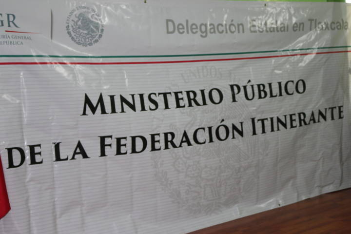 """Realizan Programa """"Agente Del Ministerio Público De La Federación Itinerante"""""""