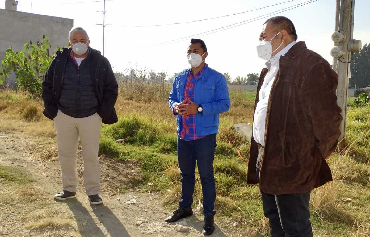 Arrancan ampliación de drenaje en Francisco Sarabia en Xicohtzinco