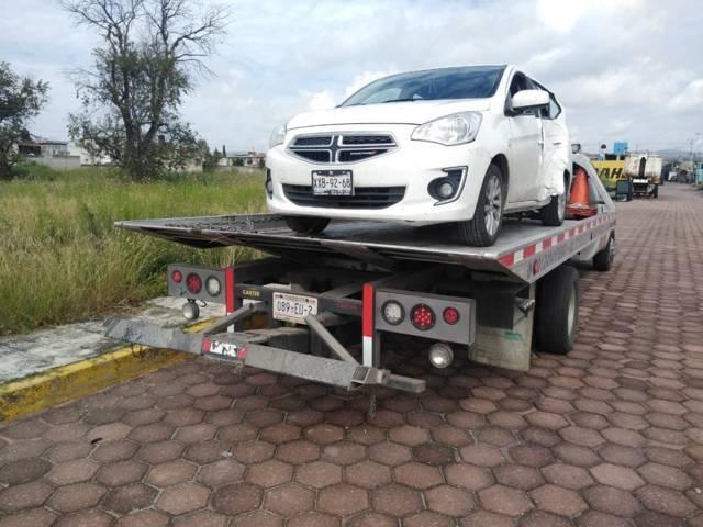 Policía municipal recupera automóvil con reporte de robo