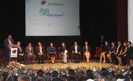 Municipios de Aguascalientes y Tlaxcala se hermanaron este día