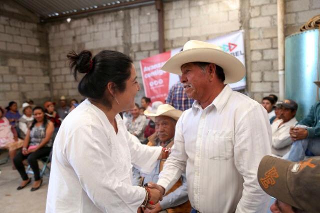Desde el Senado Anabel fortalecerá al sector agropecuario de Tlaxcala