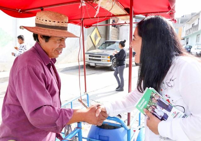Apoyará Anabel a microempresarios de Tlaxcala desde el Senado