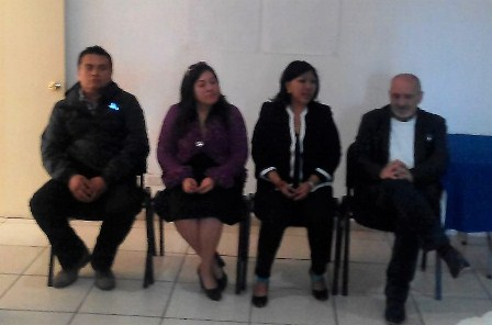 Policía capitalina participa en el taller Derechos Humanos