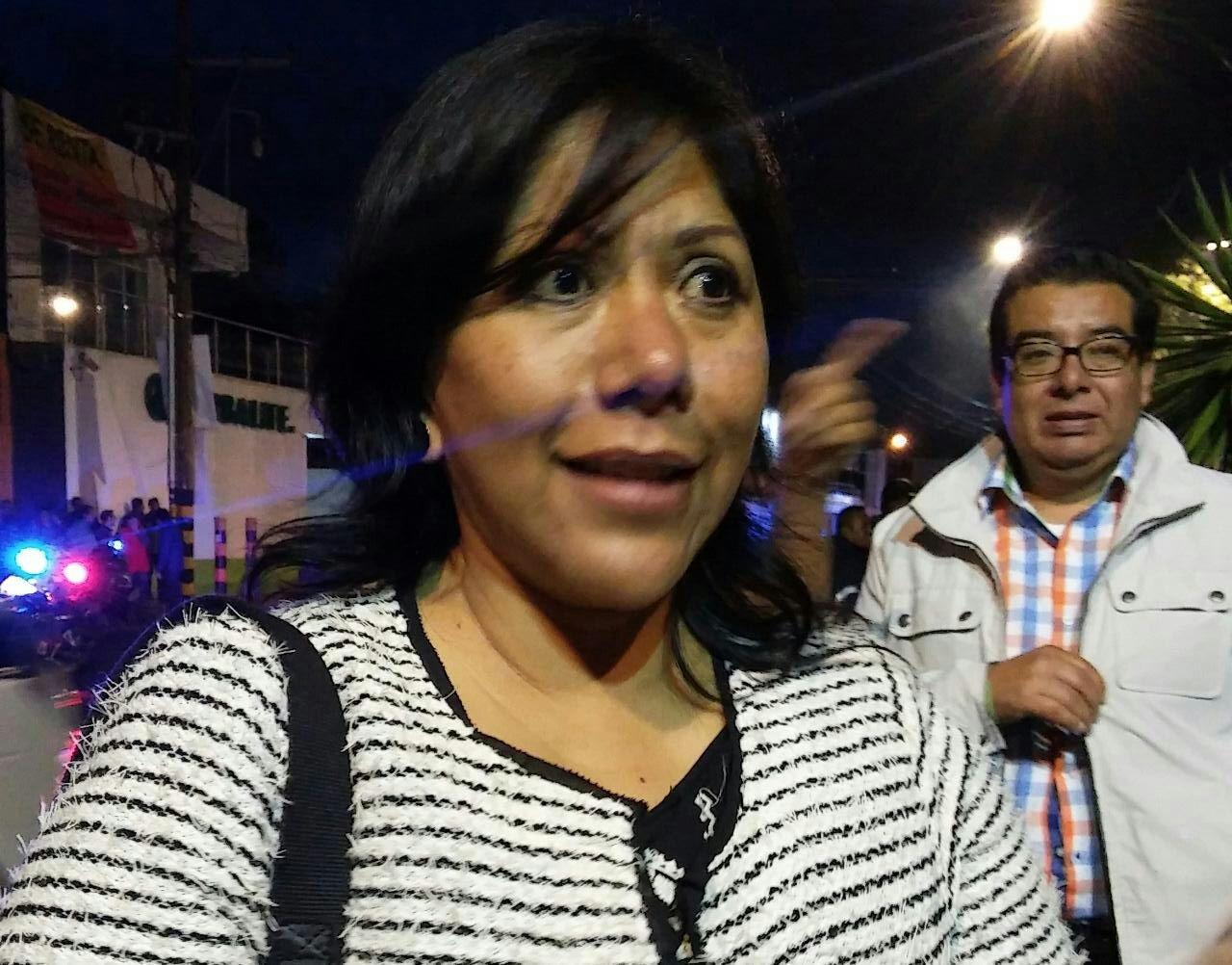 Pugna Anabell Avalos por reubicar a pobladores en zonas de riesgo
