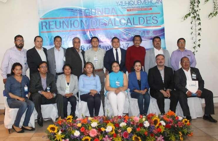Autoridades panistas de Tlaxcala se reúnen en Yauhquemehcan