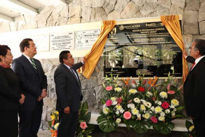 En 50 años la Sec. Moisés Sáenz han contribuido al desarrollo del municipio: JSJ