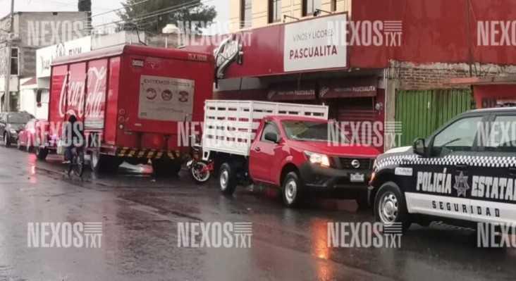 Atracan a trabajadores de Coca-Cola en Zacatelco