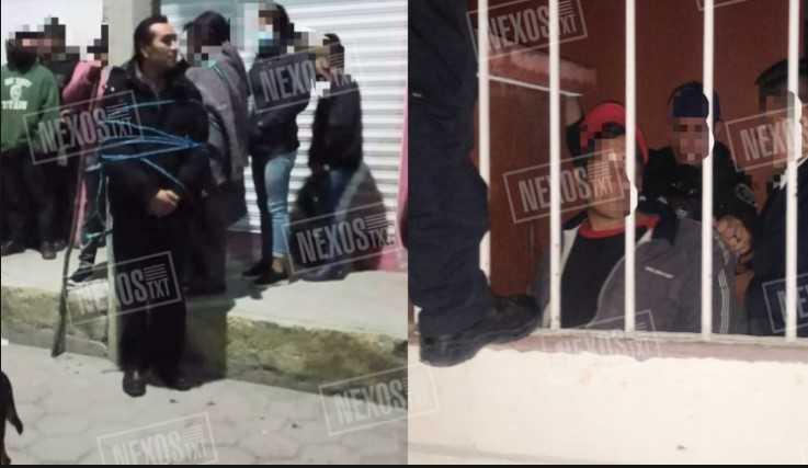 Ladrón poblano se salva de ser linchado en Tlaltelulco