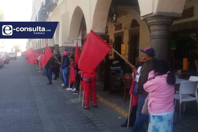 Aprobación del PEF provoca inconformidad de Antorcha Campesina en Tlaxcala
