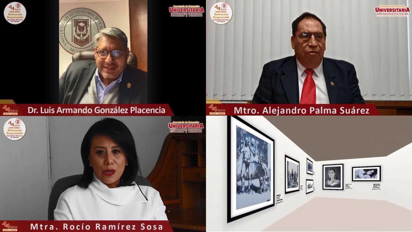 Muestra la UATx la exposición Anecdotario de Vivencias Artísticas