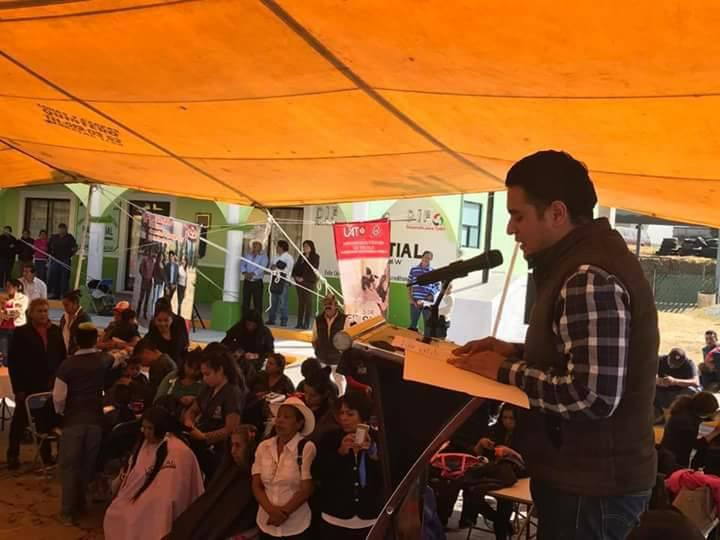 Inaugura alcalde de Apizaco jornada de salud en Texcalac