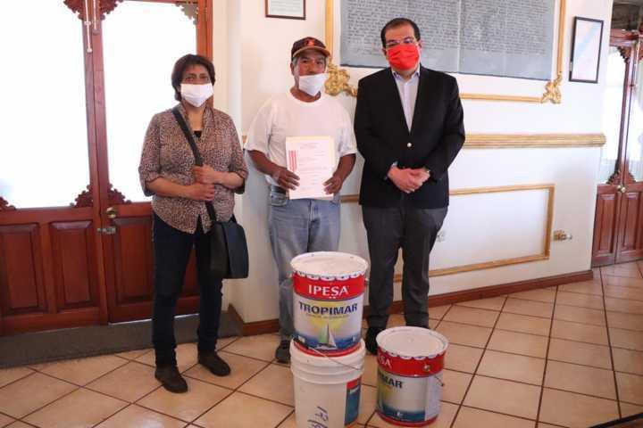 Con la entrega de apoyos se mejora la calidad de vida de los huamantlecos: JSJ