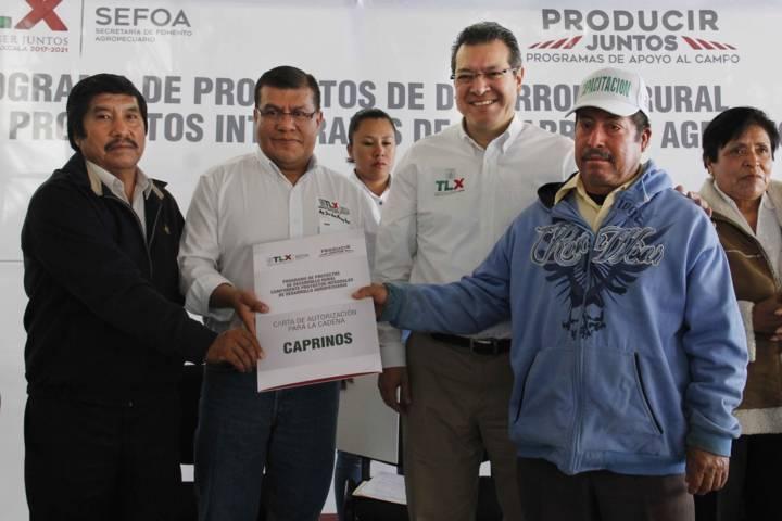 Finanzas sanas respaldan proyectos del campo: Marco Mena