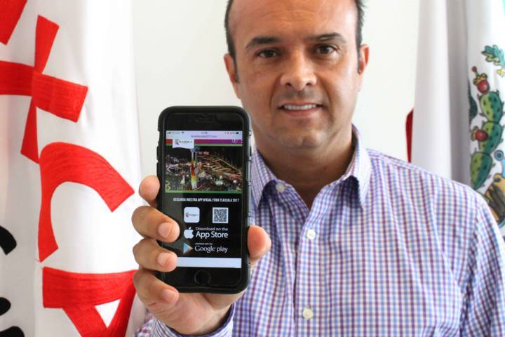 Presentan aplicación de la Feria de Tlaxcala 2017