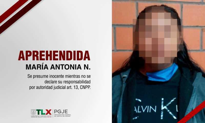 Capturan a imputada por delitos de secuestro y robo de vehículo