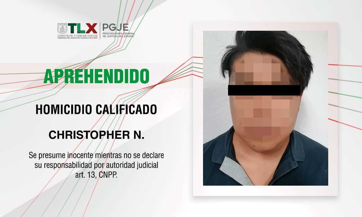 Esclarece PGJE homicidio de un hombre en Texoloc en 2020