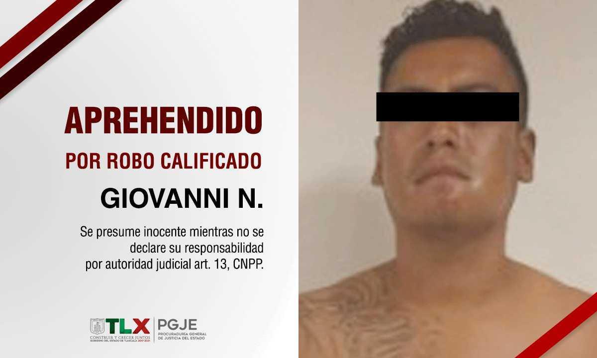 Detienen a ladrón de vehículos tlaxcalteca, estaba escondido en Baja California Sur