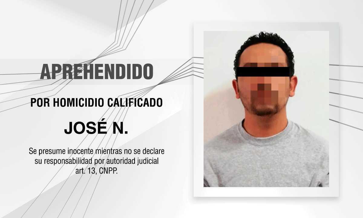PGJE cumplimenta orden de aprehensión por el homicidio de un hombre desaparecido en Chiautempan