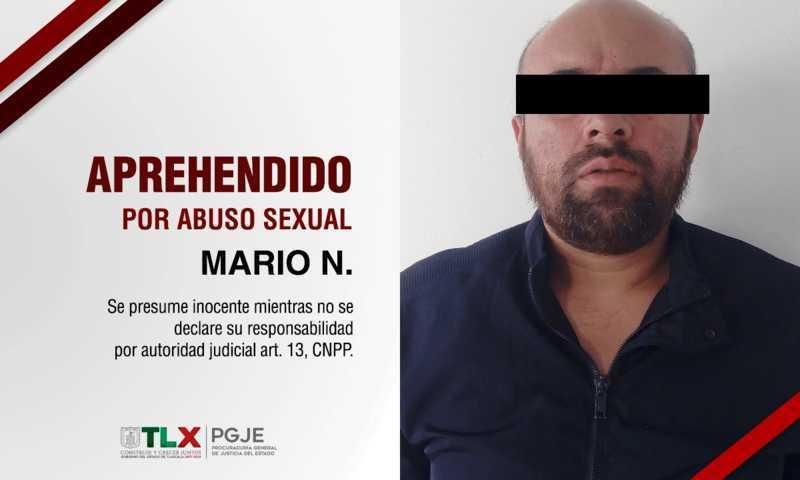 Es detenido sujeto por violar a la hija de su pareja