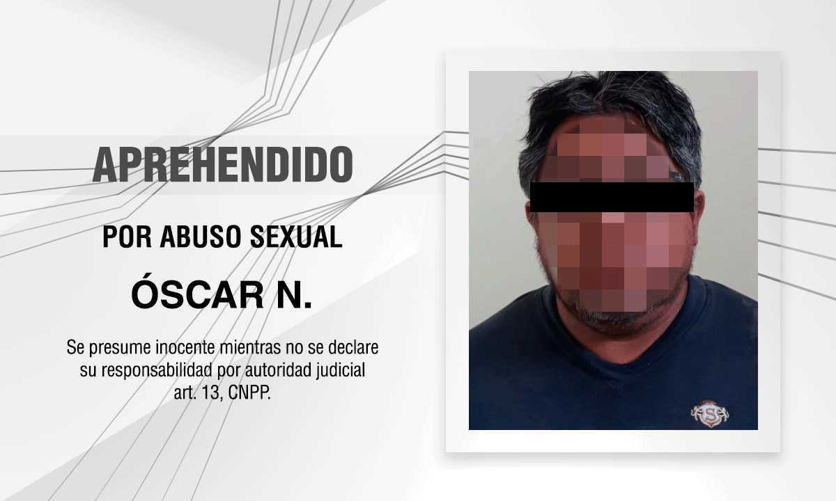Detienen a otro violador de menores, ahora en Apizaco