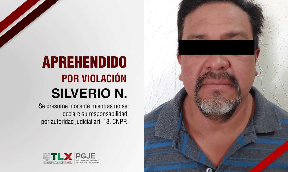 Detienen a violador de niñas en Apizaco