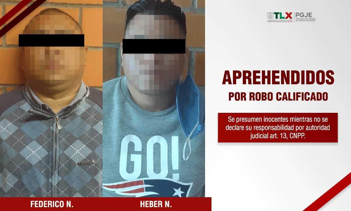 Cumplimenta PGJE orden de aprehensión contra dos imputados por robo a transporte público