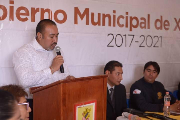 En Xicohtzinco no pagamos seguridad privada: Badillo Jaramillo