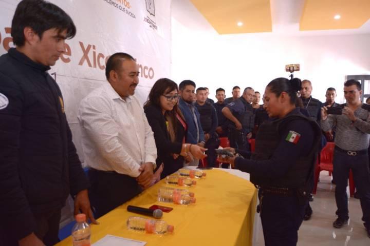 Respalda Atristain esfuerzo en seguridad para Xicohtzinco