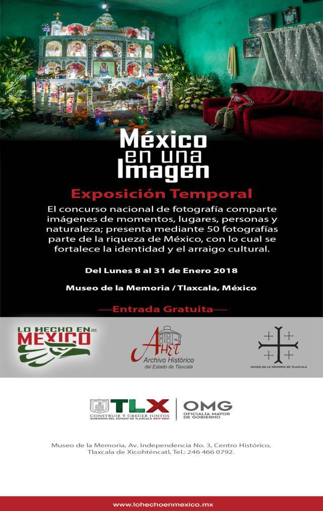Presenta Archivo Histórico la exposición fotográfica México En Una Imagen