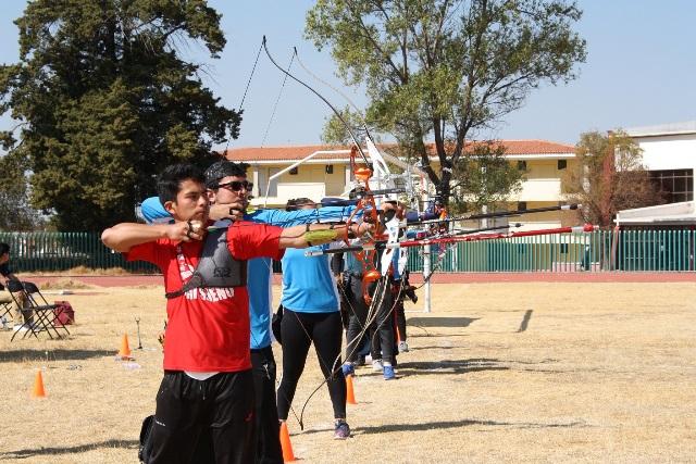 Efectuaron estatal de tiro con arco rumbo a regional de Olimpiada