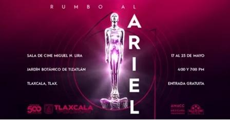 "Sala Miguel N. Lira proyecta ciclo ""Rumbo al Ariel 2019"""