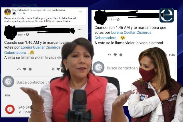 Arrecia la guerra sucia del PRIAN en contra de Lorena Cuéllar