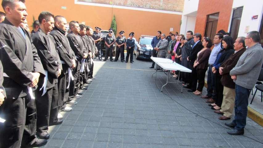 Policías capitalinos se capacitan en el arte marcial polinesio LimaLama