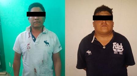 Policía de Zacatelco frustra robo y desmantela banda de roba autos