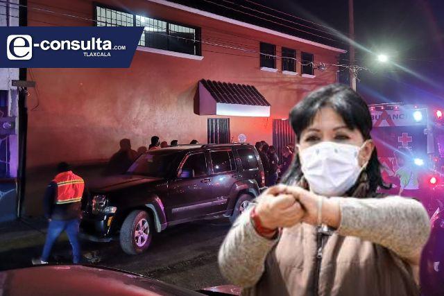 Asaltan con lujo de violencia la casa de alcaldesa capitalina