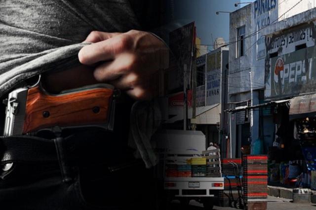 Ladrones roban durante la madrugada negocio de pizzas en la capital