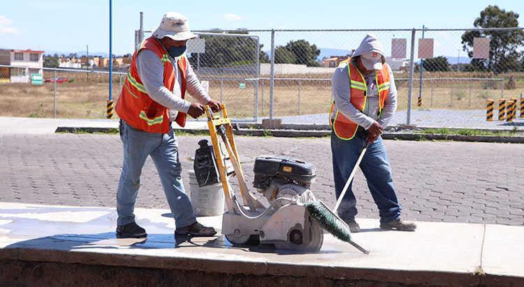 Con inversión de 2.2 MDP inician trabajos de construcción de ciclopista en Huamantla
