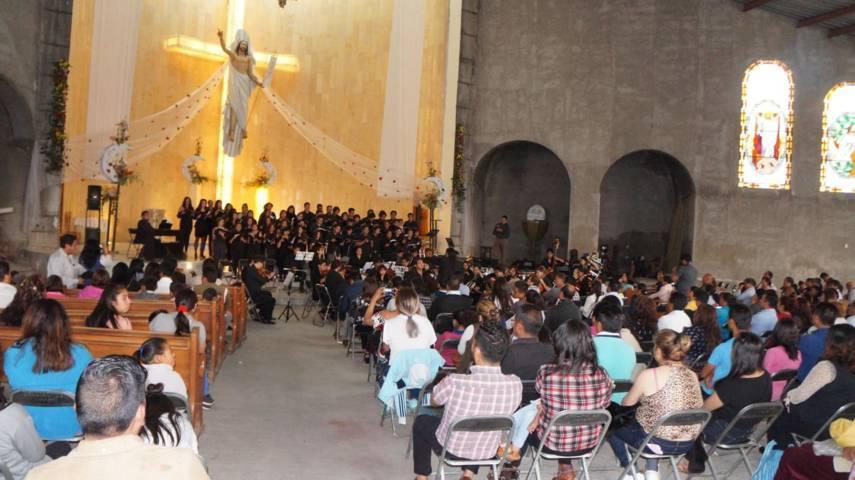 Se presenta la orquesta sinfónica de la Buap en San Pablo del Monte