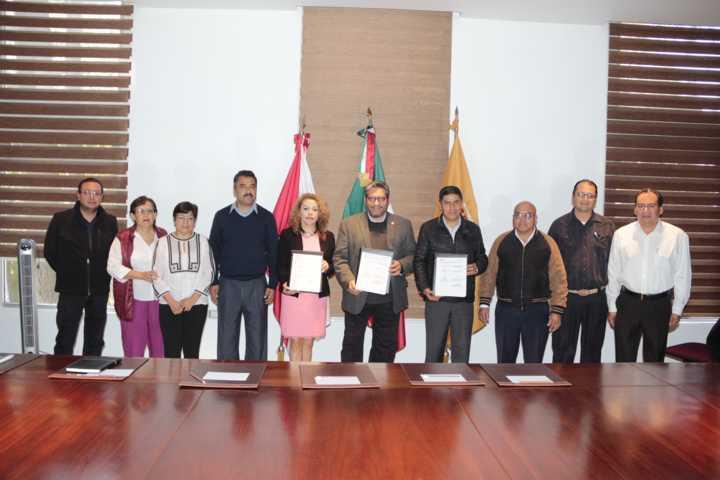 Firma convenio de colaboración UATx para coadyuvar a la formación agropecuaria