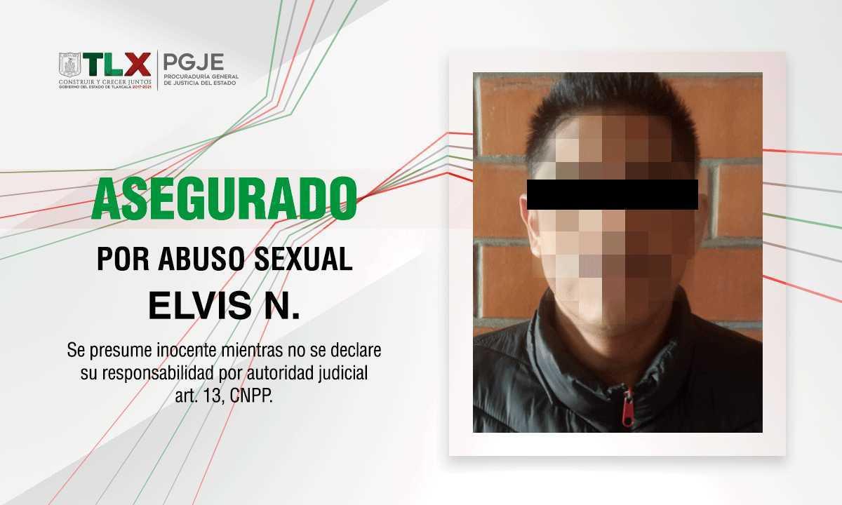 PGJE asegura a imputado por abuso sexual