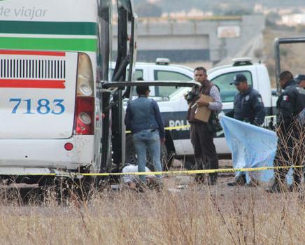 Asesinan en Tlaxco al chofer de un autobus de pasajeros