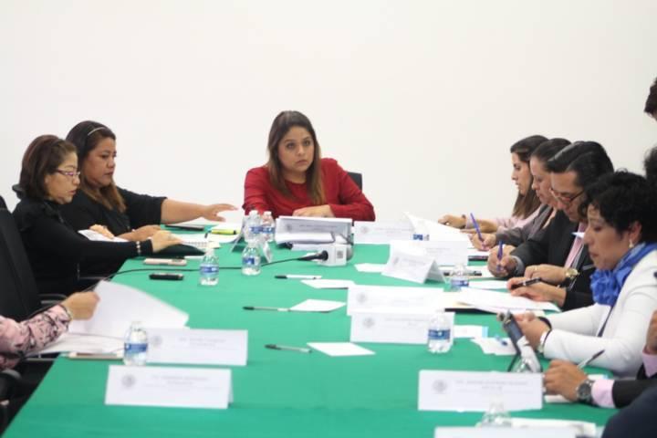 Se coordinan la comisión de asuntos electorales del congreso del estado y el ITE