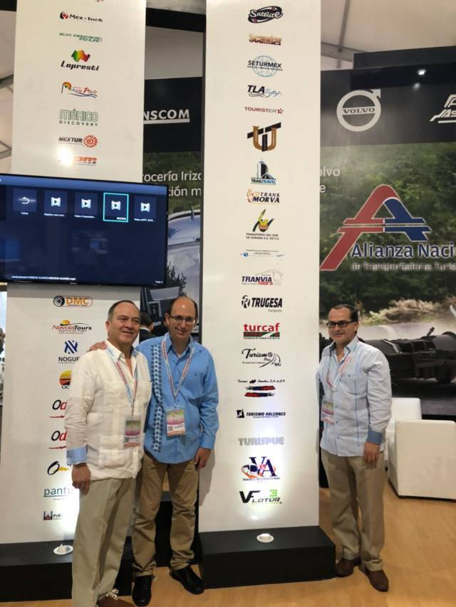 Participó ATAH en Tianguis Turístico de Mazatlán, le reconocen como factor de movilidad