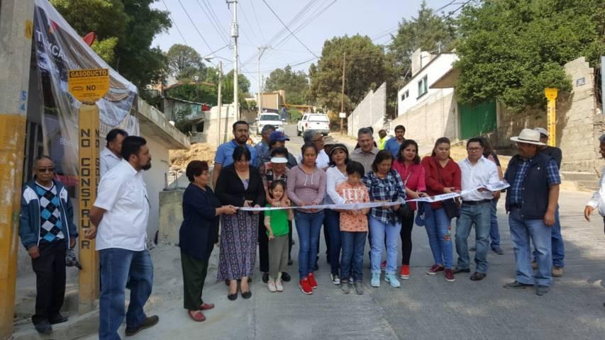 Inaugura Anabell Ávalos obras en Atempan por más de tres millones de pesos
