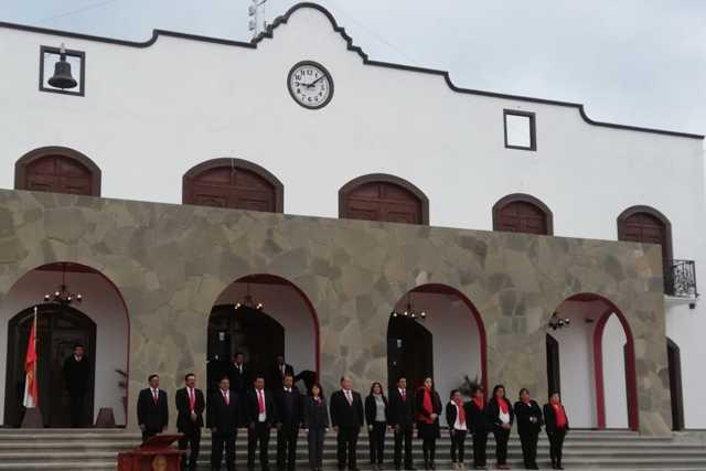 Atlangatepec se transformó con la edificación de la presidencia: Macías