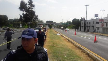 Atropellan a sujeto sobre autopista Tlaxcala-Texmelucan
