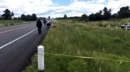 Aparece cuerpo de hombre junto a autopista Tlaxcala- Puebla