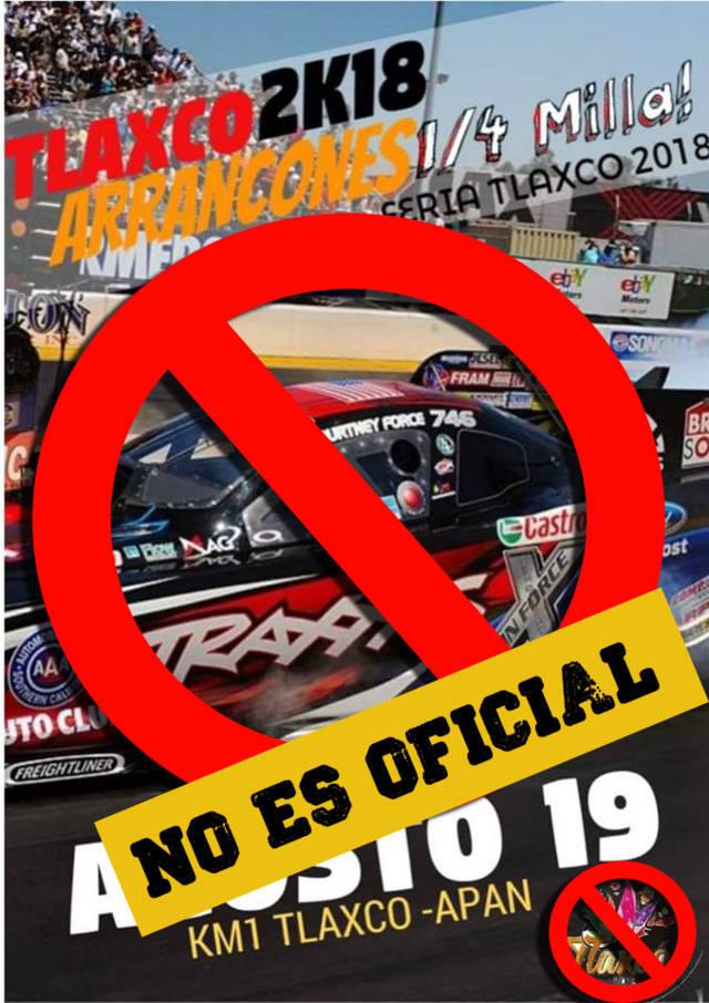 Arrancones ¼ de milla no es un evento oficial de feria: Gobierno Municipal