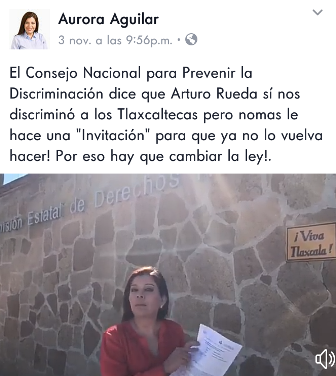 Desesperada la panista Aurora Aguilar busca reflectores